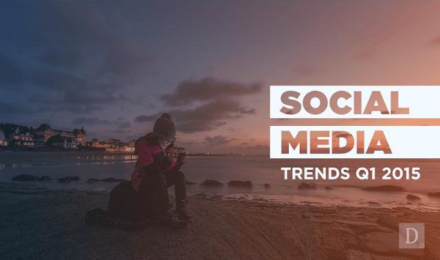 Tumblr, Reddit, Twitter, Facebook: #SocialMedia Trends Q1 2015 - #infographic