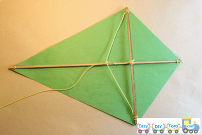 Simple homemade kite for this summer - How to make a kite ...