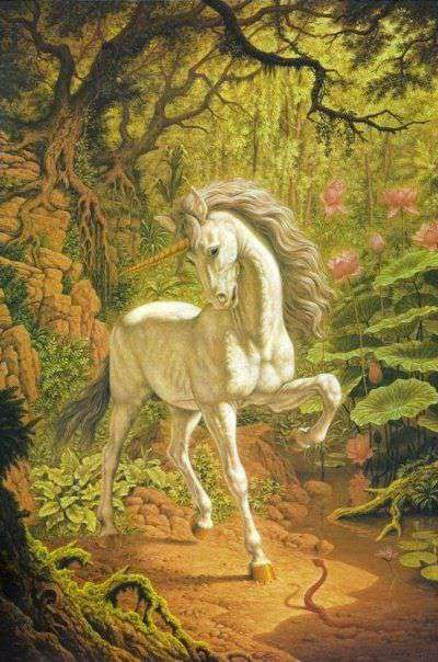 El Unicornio by Johfra Bosschart