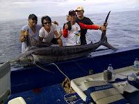 Tim Jagat Taklukan Marlin 150 kg