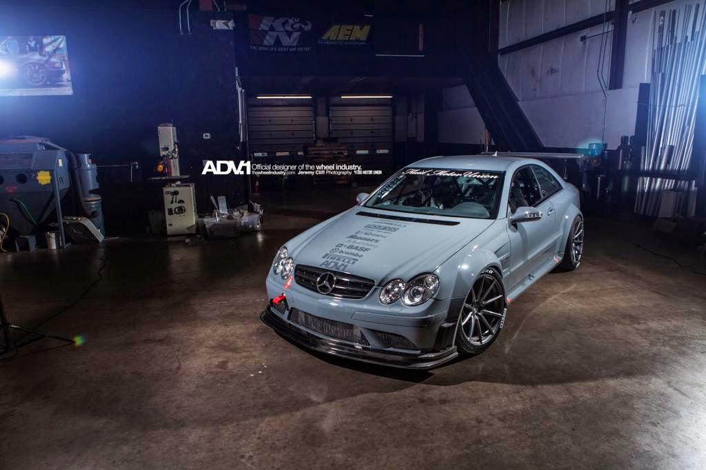 Mercedes benz clk63 amg on adv10 1 sl benztuning for Mercedes benz clk63