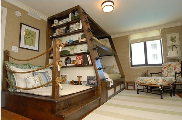 Nautical by Nature blog: Nautical Children's Bedrooms