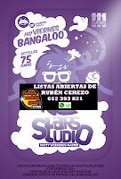 Flyer Viernes StarsStudio Bangaloo 14 de Mayo