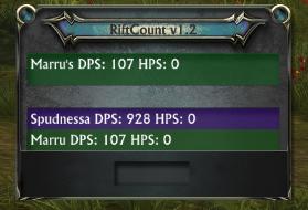 RiftCount DPS Meter - Rift AddOns