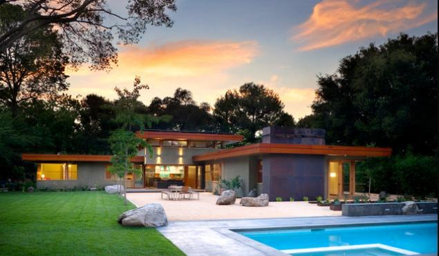Fachadas casas modernas fachadas de casas sencillas de una planta - Casas modernas una planta ...