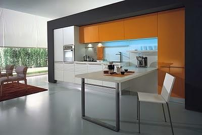 Decoraciones y mas modernas y elegantes cocinas estilo for Cocinas italianas modernas