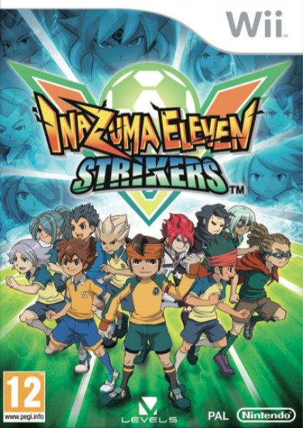 WII  Inazuma Eleven Strikers  PAL  2012
