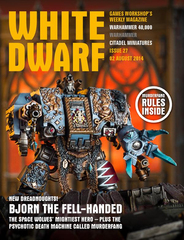White Dwarf Weekly número 27 de agosto