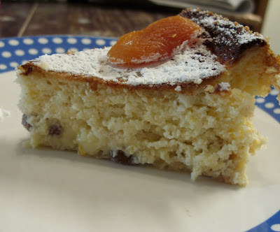 Eat The Blog: Cottage Cheese Cake With Raisins, and Citrus Zest