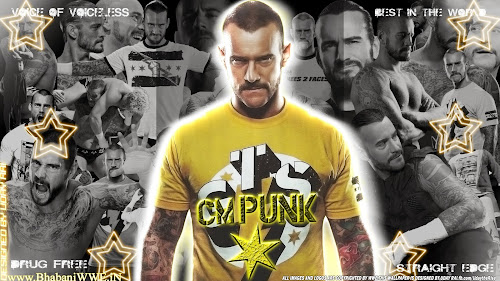 "Wallpaper » Download CM Punk ""Cult of Personalty"" HQ Wallpaper (Designed By Uday Rai via iPOST)"