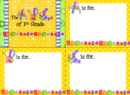sailing through 1st grade: back to school night template, Modern powerpoint