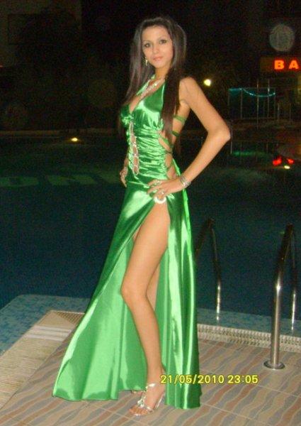 Legged Prom Dress
