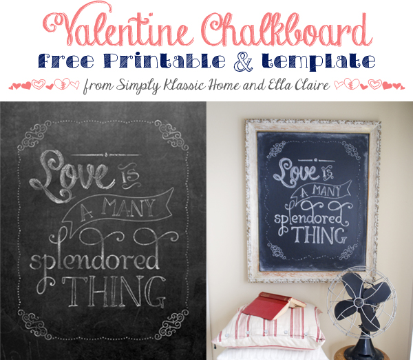 301 moved permanently for Printable chalkboard template