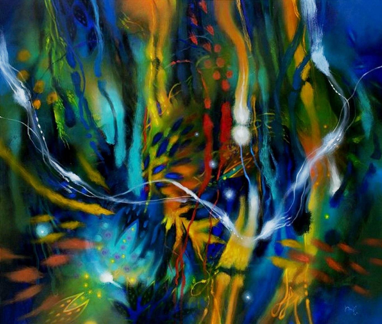 Cuadros pinturas oleos pintura al leo abstracto for Imagenes de cuadros abstractos grandes