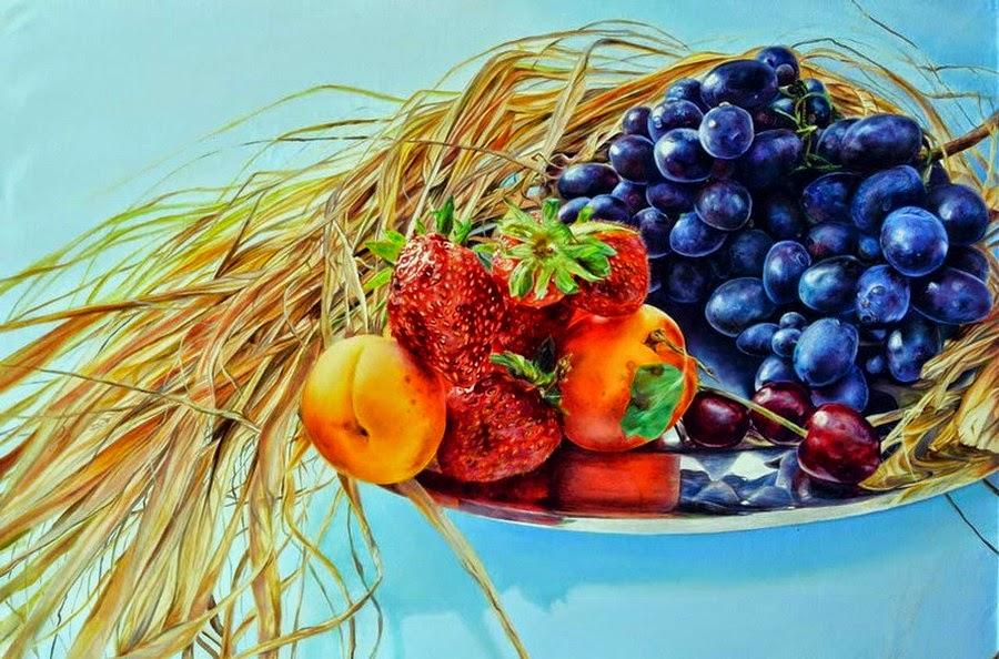 bodegones-con-uvas-pinturas
