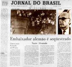 Jornal do Brasil, 12 de junho de 1970