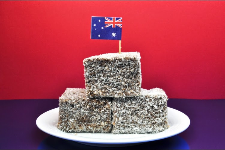 Australian lamington official website lamingtons for Australian cuisine facts