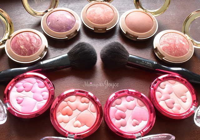 Milani Physicians Formula Happy Booster Blush Collection Swatches