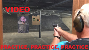 VIDEO 50 Second Shooting Drill: Don't be a victim to violent crime Practice, Practice