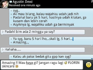 Testi Florin skin care olips beauty