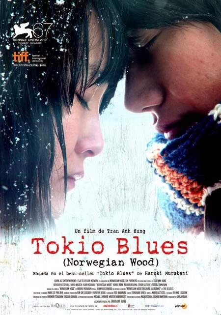 TOKIO BLUES (NORWEGIAN WOOD) de Tran Anh Hung (2010).