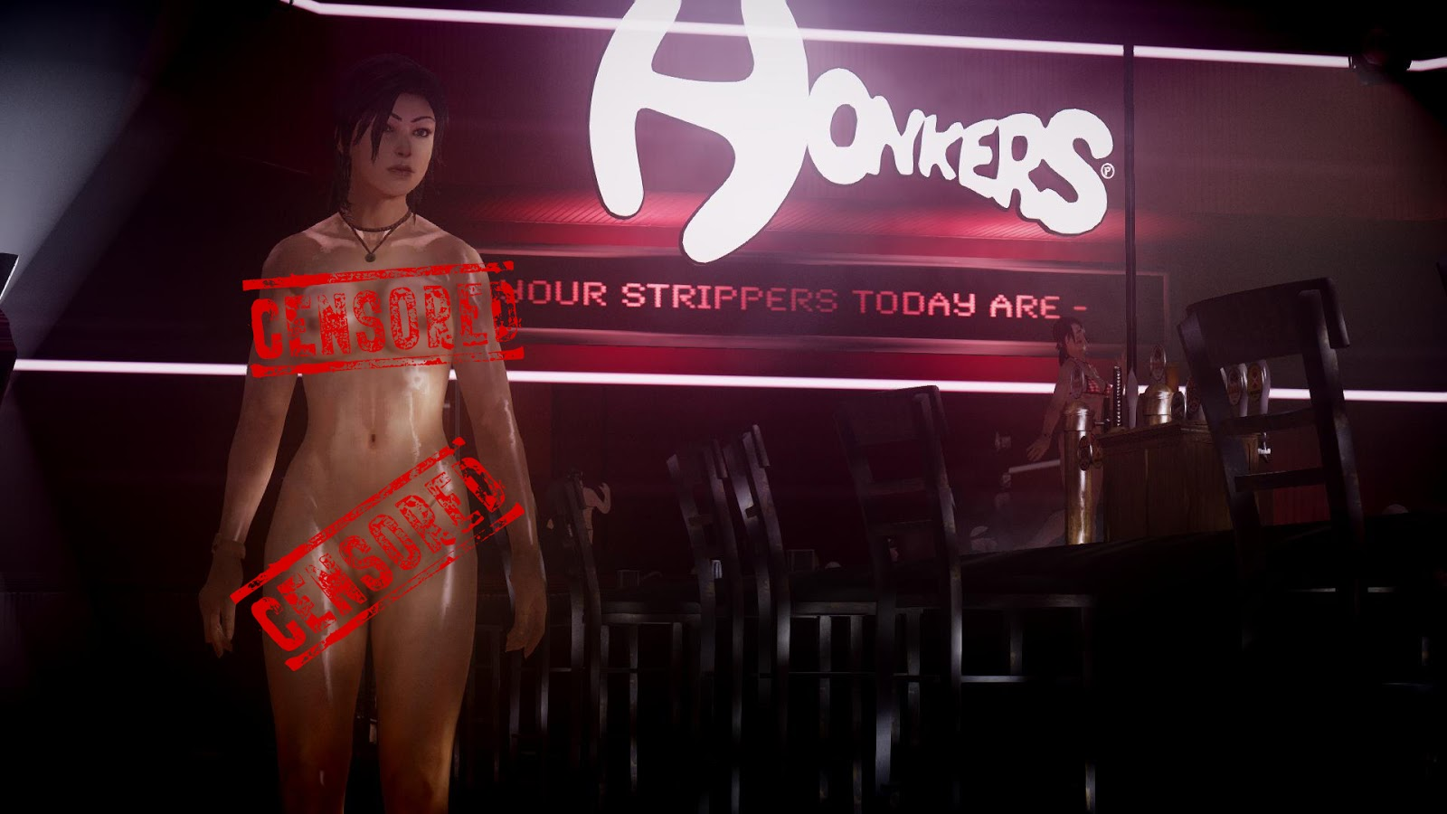 Stripper mod naked movies