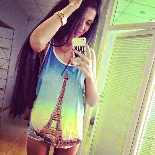 Hot Selfies clicked using iPhone