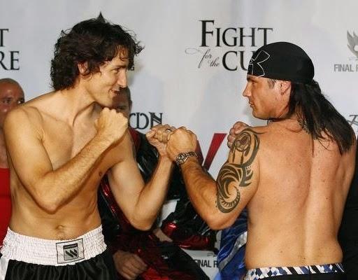 Justin Trudeau & Patrick Brazeau.
