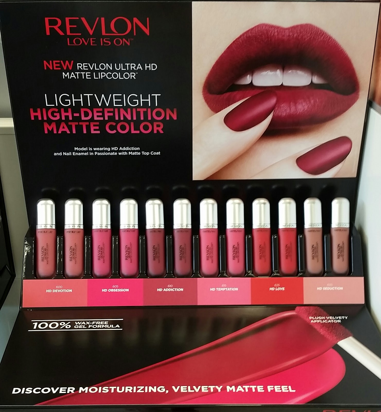 Revlon Ultra HD Matte Liquid Lipcolor Review & Swatches
