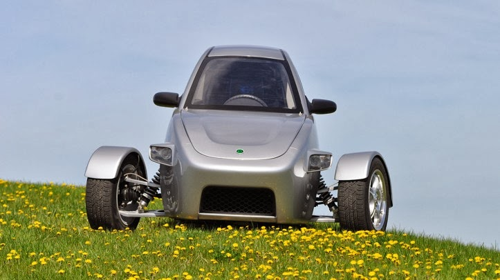 Elio Motors' three-wheeled car gets 84 miles per gallon