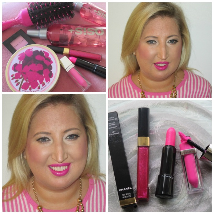 Pink Makeup Trend Best Products Chanel MAC Maybelline