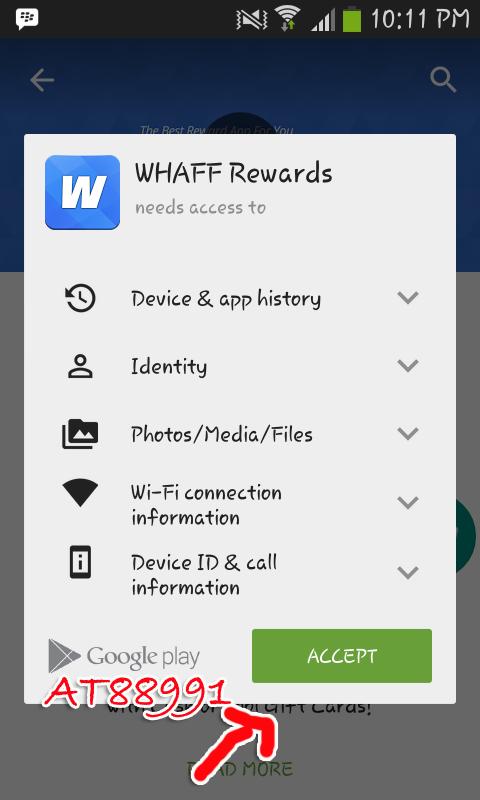 dollar gratis dari whaff