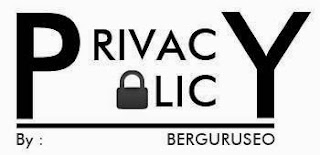 Privacy Policy blog berguruseo