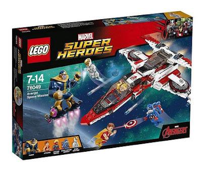 TOYS : JUGUETES - LEGO Marvel Super Heroes  76049 Avenjet Space Mission | Mision Espacial  Avengers - Los Vengadores   2016 | Piezas: | Edad: 7-14 años  Comprar en Amazon España & buy Amazon USA