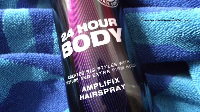 Treseme 24 Hour Body Amplifix Hairspray Review