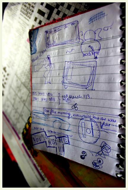 classroom doodle