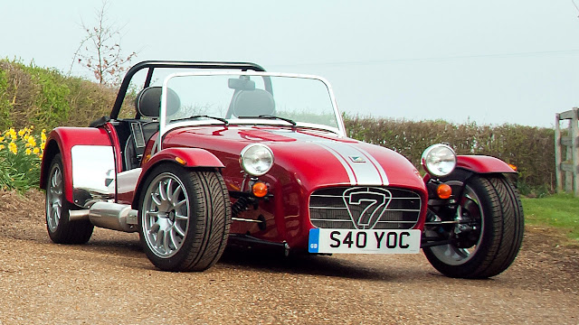 Limited Edition pack celebrates 40 years of Caterham