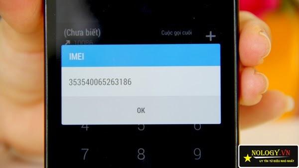 HTC One M7 - test imei