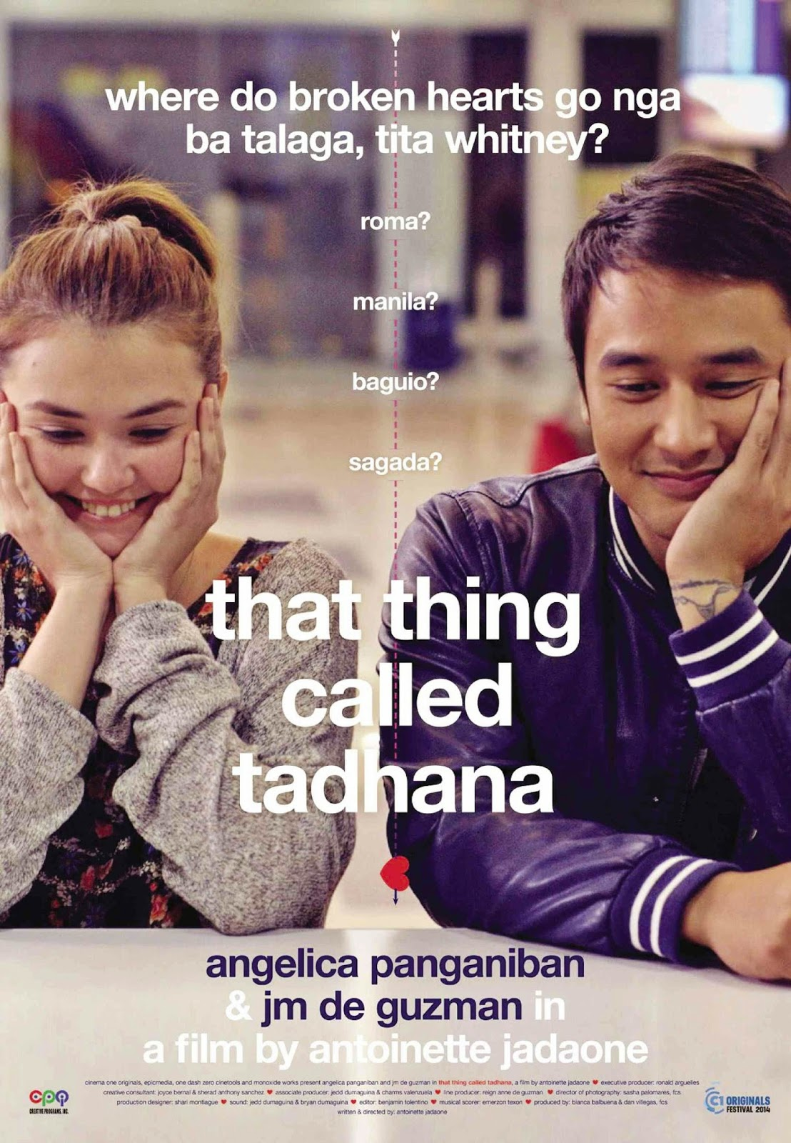 That Thing Called Tadhana Filipino Romance Drama Film