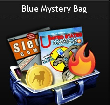 Blue Mystery Bag at Mafia Wars