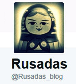 El Twitter OFICIAL de Rusadas
