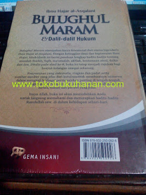 Buku Bulughul Maram & Dalil-dalil Hukum Ibnu Hajar al asqalani