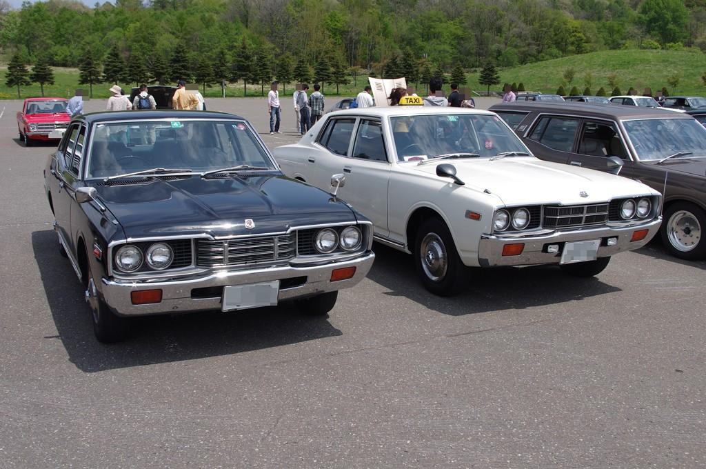 Nissan Cedric, Gloria, 330, klasyki motoryzacji, dawne auta, japoński samochód, stary, galeria, zdjęcia, jdm