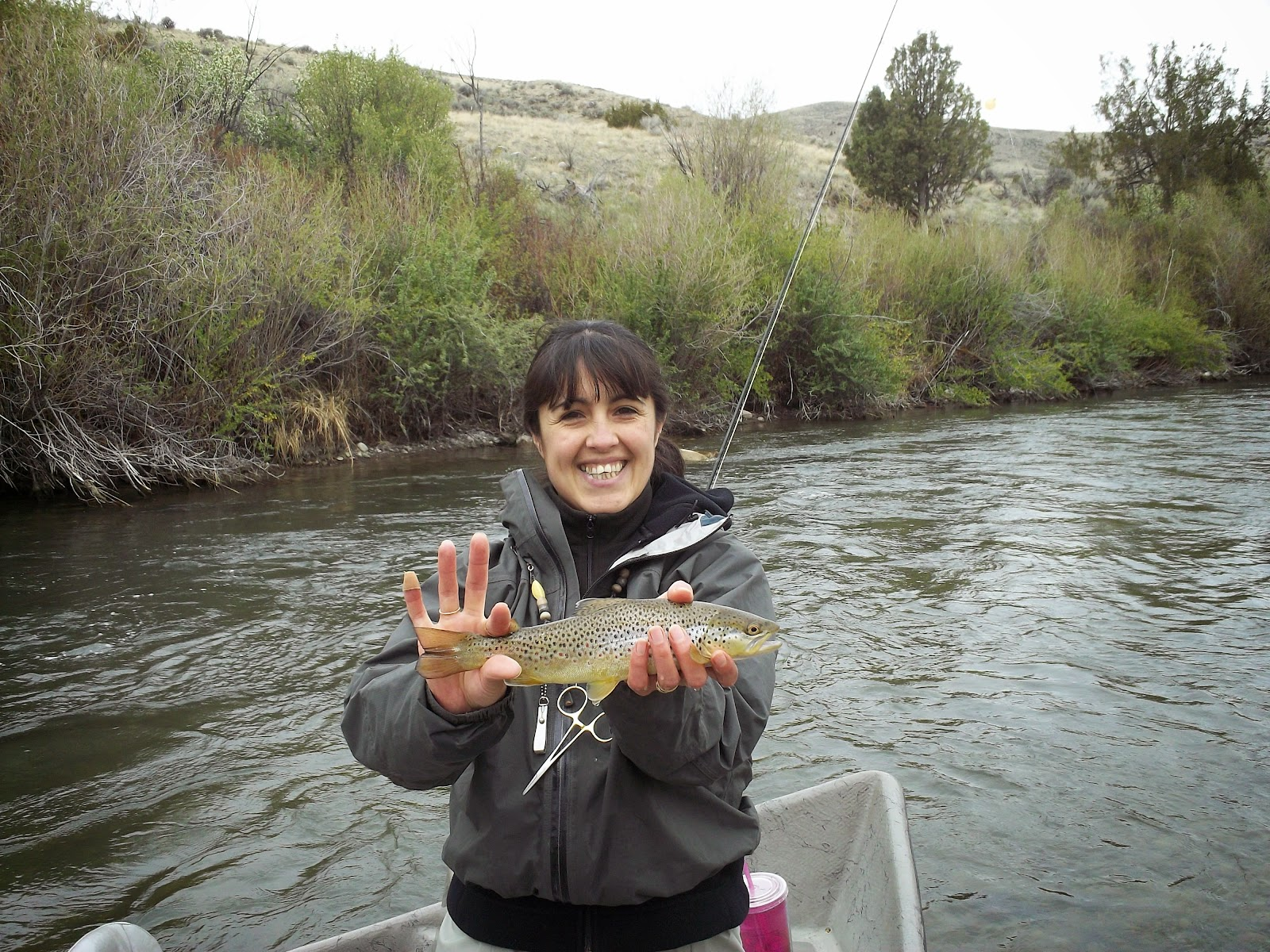Reel rods inc i took my wife fishing today on her day off for How is fishing today