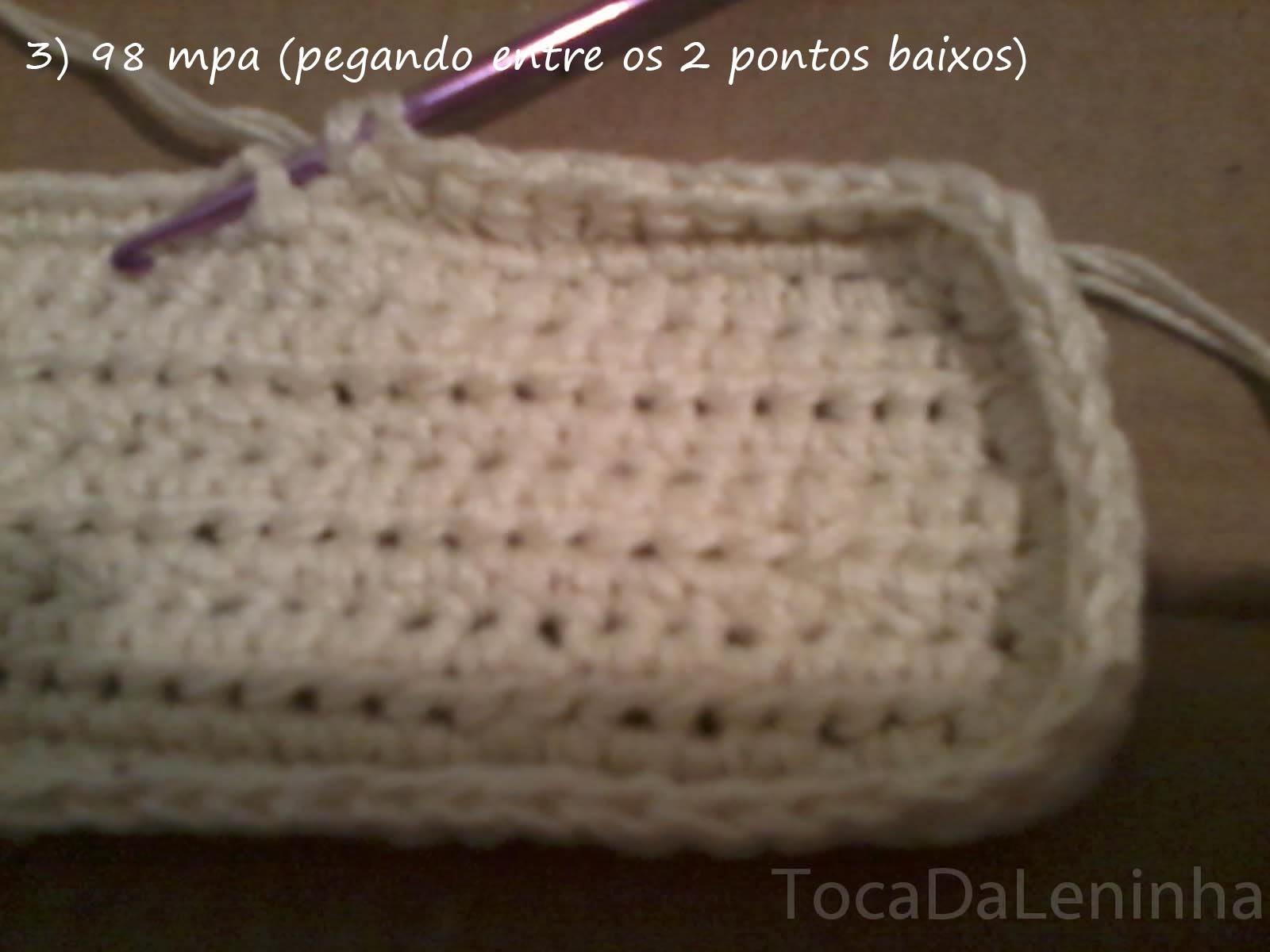 Bolsa De Festa Em Croche Passo A Passo : Toca da leninha bolsa instagram de croch? passo a