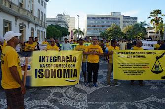 MILITARES NA LUTA PELO SUBSÍDIO E PROMOÇÃO POR TEMPO DE SERVIÇO.