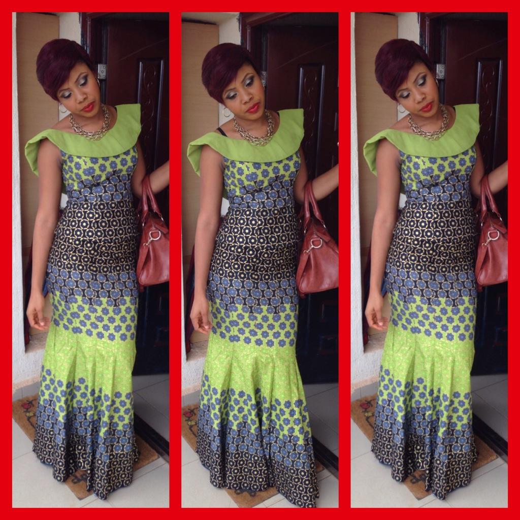 African Dresses Ankara Long Gown Style - DeZango Fashion Zone