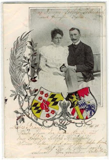 Duchesse Sophie en Bavière 1875-1957 et comte Hans Veit zu Toerring-Jettenbach
