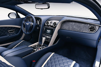 Bentley Continental GT Speed (2016) Dashboard With Stone Veneer