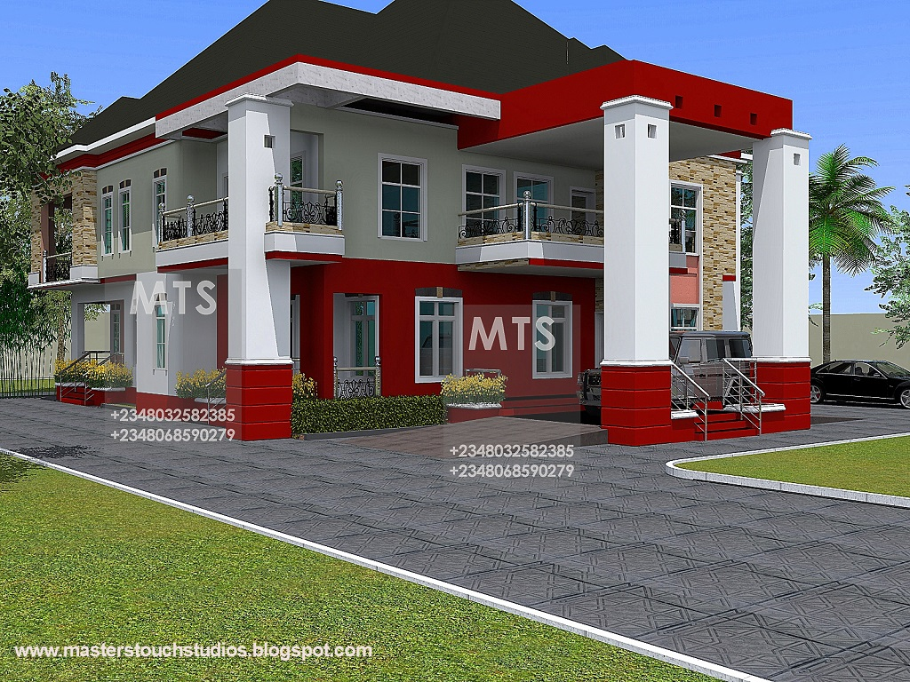 Mr nnamdi 5 bedroom duplex residential homes and public for 6 bedroom duplex